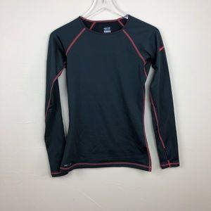 Nike Pro | Fleece Lined Athletic Top